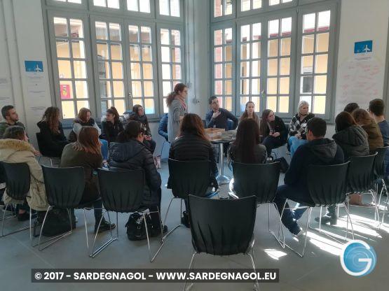 Emigrazione Giovanile, incontro Connessioni foto Sardegnagol riproduzione riservata