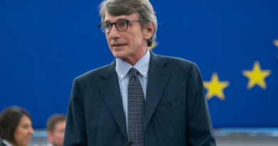 David Maria Sassoli, foto Parlamento europeo