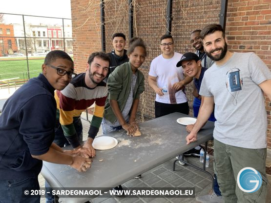 Giovani Sardi solidarietà USA, foto Gabriele Frongia