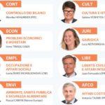 Presidenti commissioni Parlamento europeo