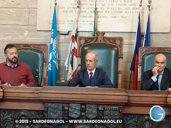 Emanuele Frongia, Paolo Spano, Alessandro Sorgia