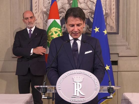 Giuseppe Conte, foto Governo.it