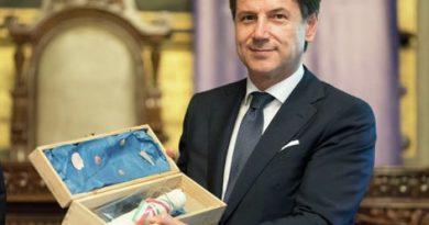 Presidente Giuseppe Conte Cagliari
