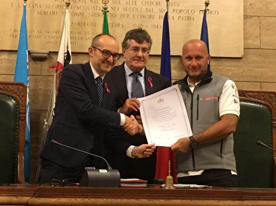 Paolo Truzzu, Max Sirena, Edoardo Tocco