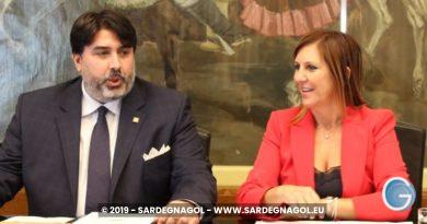 Alessandra Zedda, Christian Solinas Foto Sardegnagol, riproduzione riservata, anno 2019 autore Gabriele Frongia