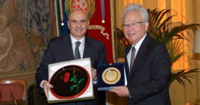 Alessandro Sorgia, vicegovernatore Tomikawa