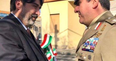 Il Presidente Christian Solinas e il Generale Andrea Di Stasio