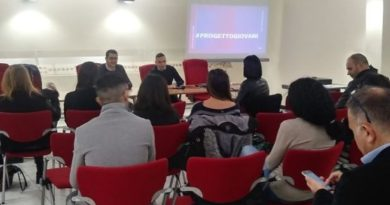Alberto Sanna, meeting Progetto Giovani