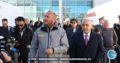 Max Sirena, Gianni Chessa, foto Sardegnagol riproduzione riservata