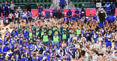 Dinamo basket foto Luigi Canu