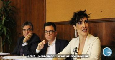 Francesco Agus, Desire Manca, Gianfranco Ganau