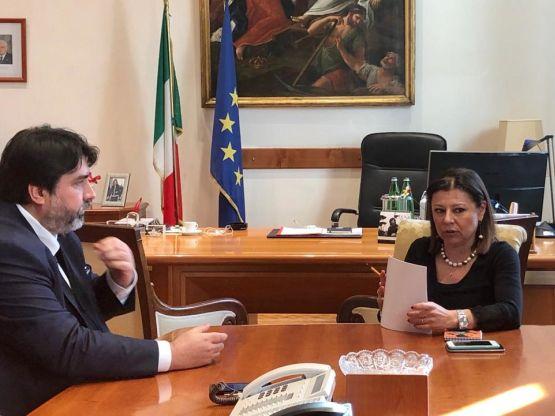 Christian Solinas, Paola De Micheli