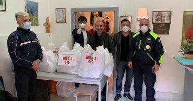 Donazione della comunità cinese