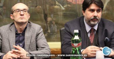 Christian Solinas, Paolo Truzzu, foto Sardegnagol, riproduzione riservata, 2020 Gabriele Frongia