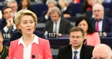 Ursula von der Leyen, foto Parlamento europeo