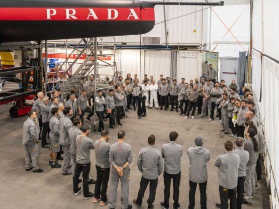 Team Luna Rossa Prada Pirelli