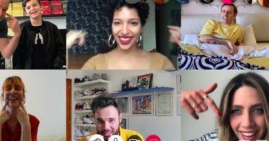 Un frame del video Buona Stella