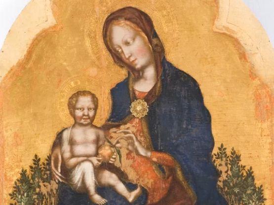 La Madonna con il Bambino, Gentile da Fabriano