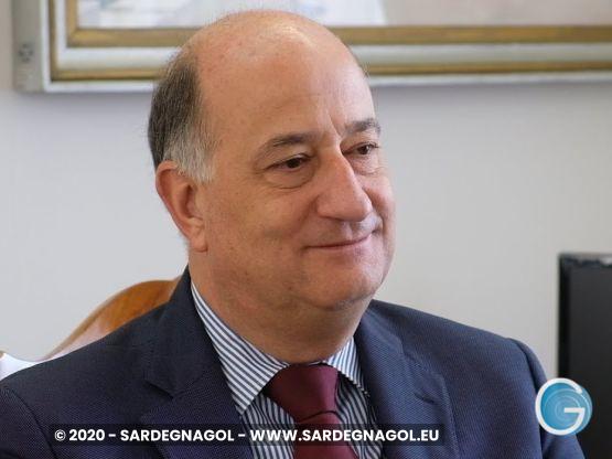 Prefetto Dott. Comm. Bruno Corda, foto Sardegnagol riproduzione riservata, anno 2019 autore Roberto Dessì