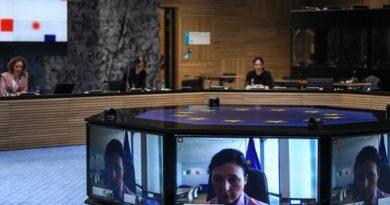 Videoconferenza Consiglio, foto European Union