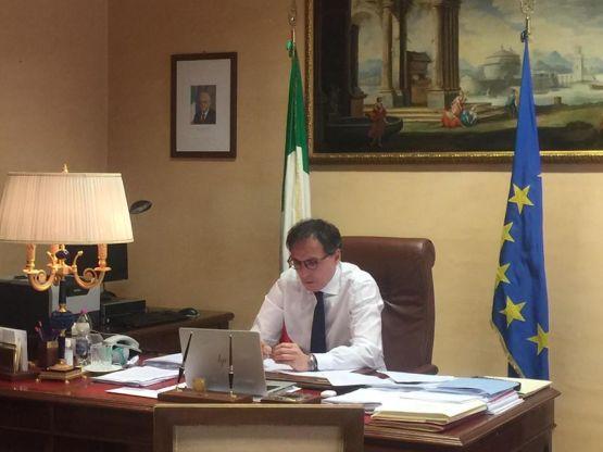 Francesco Boccia, foto Ministero Affari Regionali