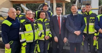 Gianni Lampis, Protezione civile