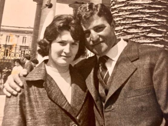 Giovanni Panunzio e la moglie Angela