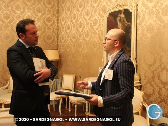 Eugenio Zoffili, Gabriele Frongia, foto Sardegnagol