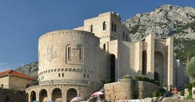 Castello di Kruja, foto Pudelek commons wikipedia