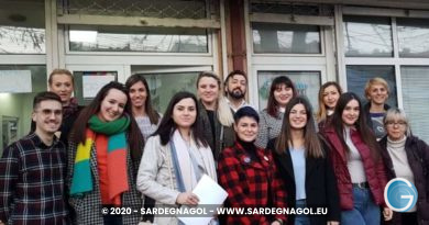 Il gruppo del progetto Youth Ambassadors of Non Formal Learning