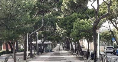 Cagliari, viale Buoncammino