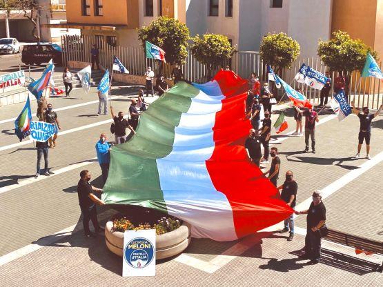 Manifestazione Fratelli D'Italia, Gioventù Nazionale
