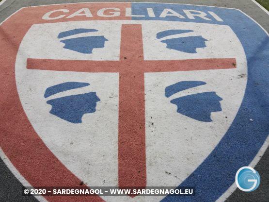 Cagliari Calcio stemma, foto Sardegnagol