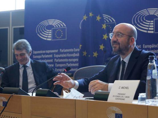 David Sassoli, Charles Michel, foto Copyright: European Union