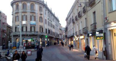 Cagliari vie del centro ai tempi del Covid-19