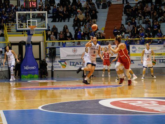 Partita di basket, foto Sardegnagol Marina Federica Patteri
