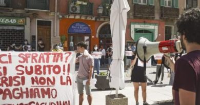 Manifestazione studentesca ERSU Cagliari