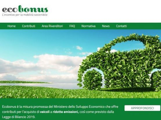 Ecobonus, Il sito della piattaforma