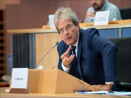 Paolo Gentiloni, foto Copyright Parlamento Europeo
