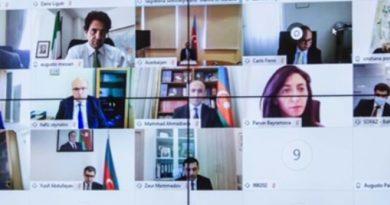 Videoconferenza Italia-Azerbaigian