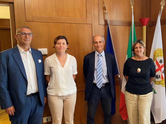 Enrico Gaia, Annalisa Bonfiglio, Giacomo Cao, Maria Assunta Serra