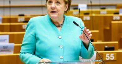 Angela Merkel, foto Laurie Dieffembacq © European Union 2020 - Source : EP