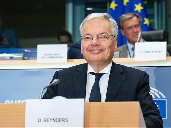 Didier Reynders, foto Parlamento europeo europarl.europa.eu