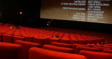 Sala cinema, foto Saliko da Pixabay