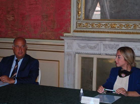 Prefetto Bruno Corda, Valeria Satta