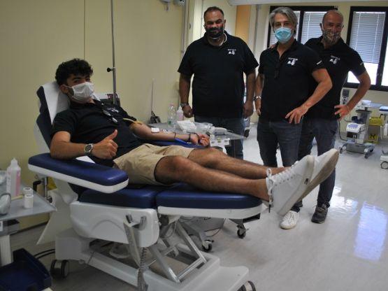 BMW Motorrad club Sardegna, donazione sangue