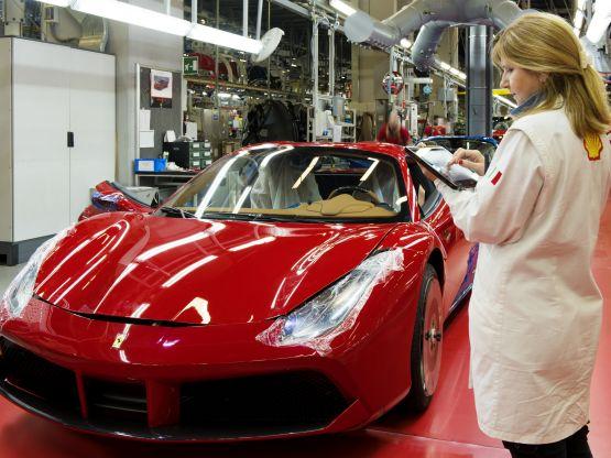 Personale Ferrari, Copyright Ferrari S.p.A.