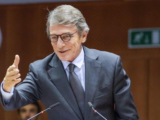 David Sassoli, foto Parlamento europeo