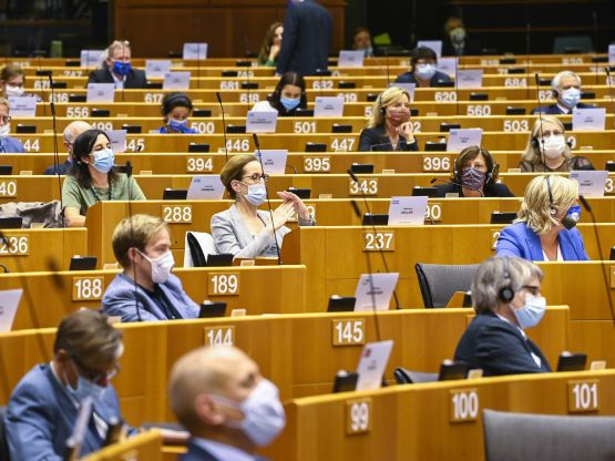 Eurodeputati, foto Laurie Dieffembacq © European Union 2020 - Source : EP