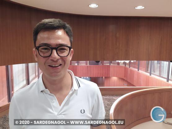 Francesco Agus, foto Sardegnagol riproduzione riservata, 2020 Gabriele Frongia